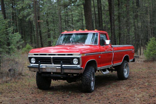 1976 Ford F250 Highboy Hiboy Classic Truck For Sale