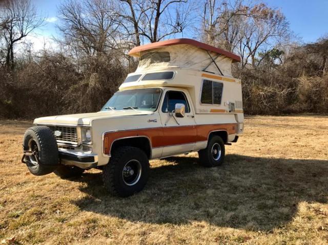 1976 Gmc Casa Grande Rare Camper Chinook Pop Top 4x4 For Sale