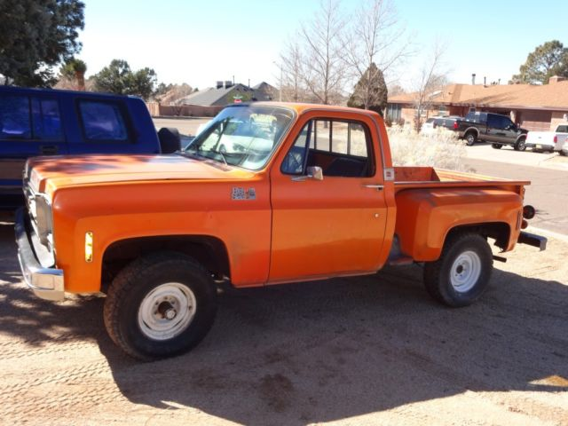 1976 Gmc K15 Shortbed Stepside 4x4 For Sale Gmc Other