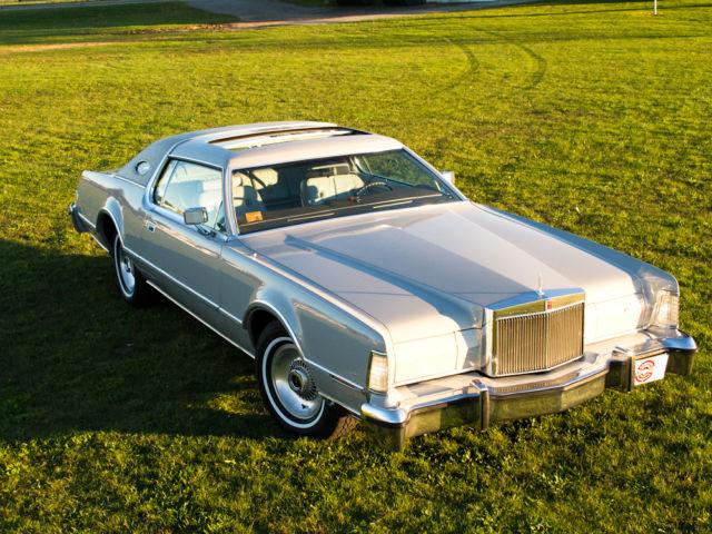 1976 Lincoln Continental Mark Iv Original Quot Cartier