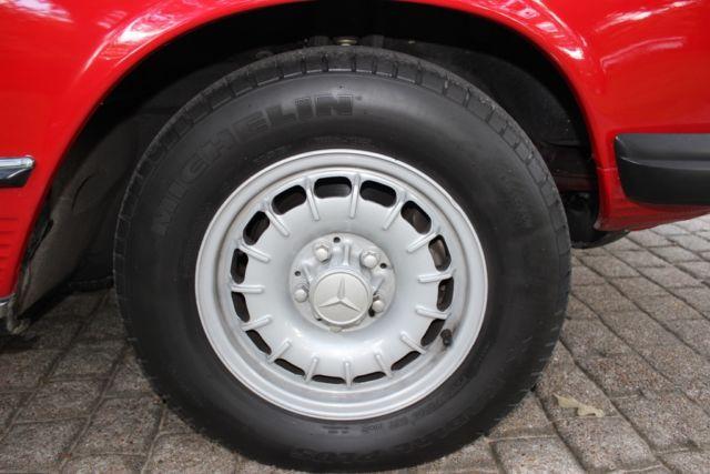 1976 Mercedes 450SL Roadster w/rebuilt engine and transmission for