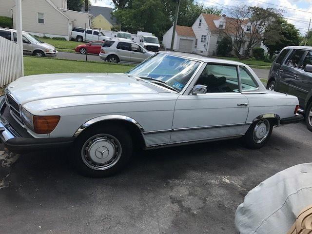 1976 mercedes 450sl v8 automatic convertible w hardtop for 1976 mercedes benz 450sl for sale