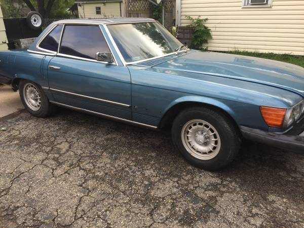 1976 mercedes benz 450 sl for repair or parts for sale for 1976 mercedes benz for sale