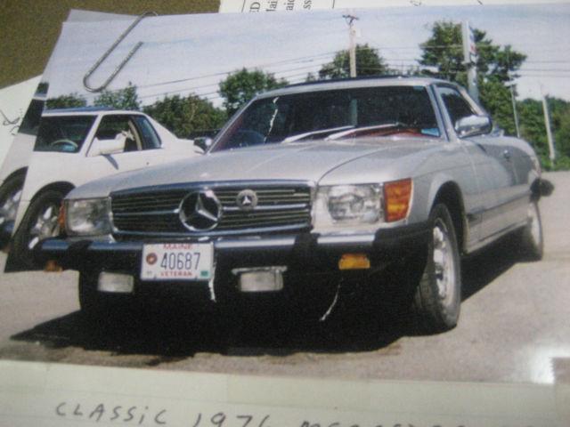 1976 mercedes benz 450 slc original nos parts for Mercedes benz original accessories