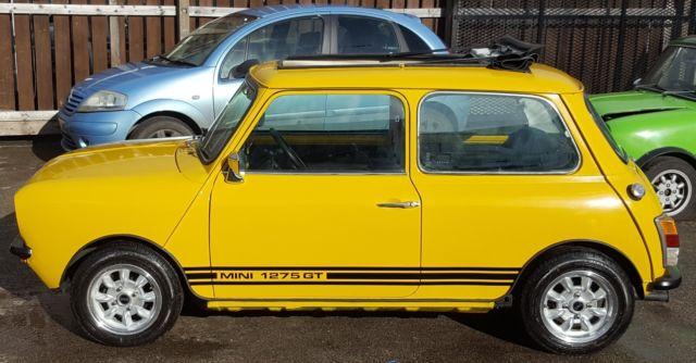 1976 Mini 1275 Gt Open Top For Sale Mini Classic Mini 1976 For