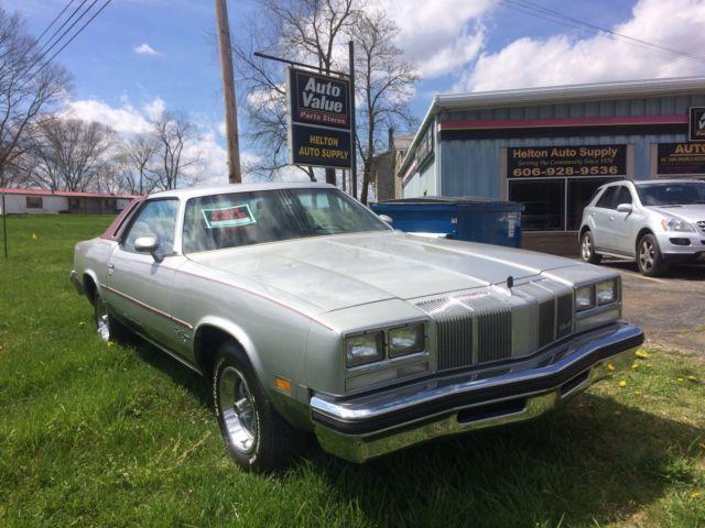 1976 oldsmobile cutlass supreme H/O Edition for sale