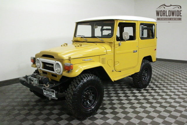 1976 TOYOTA FJ40 RESTORED  PS PB 2F Motor RARE! for sale