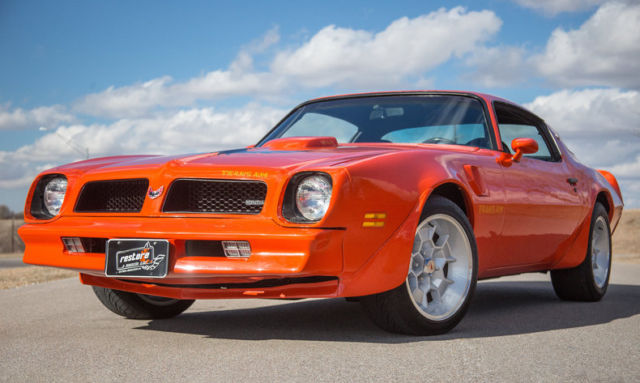 1976 trans am 400 auto restored 17 wheels for sale for Am motors used cars