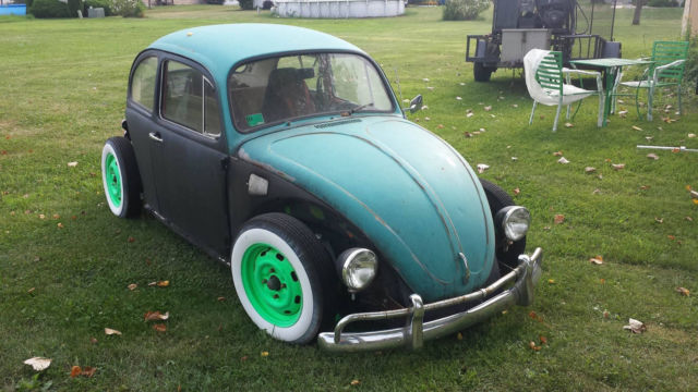1976 vw rad rot beetle 1641cc rebuilt engine lots of new parts for sale volkswagen beetle. Black Bedroom Furniture Sets. Home Design Ideas