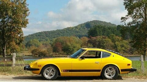 1977 280Z, coupe, yellow, ZAP edition for sale - Datsun Z ...