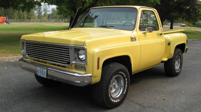 78 chevy truck stepside