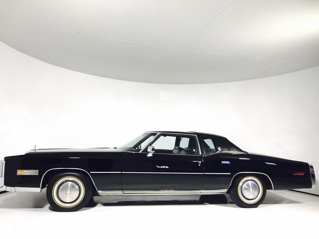 1977 cadillac eldorado coupe black coupe automatic for. Black Bedroom Furniture Sets. Home Design Ideas
