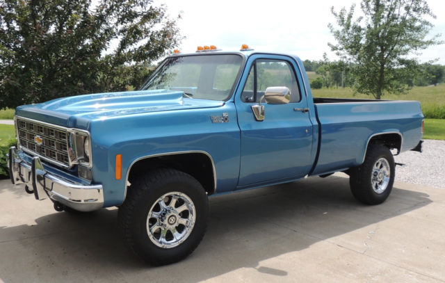 Chevy K20 For Sale >> 1977 Chevrolet K20 P/U truck Custom Deluxe 20 3/4 ton 1 ton rear stick shift 4x4 for sale ...