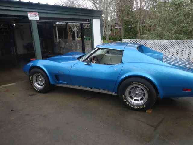 Chevy Corvette Stingray L Only K Miles Restored Nice Speed