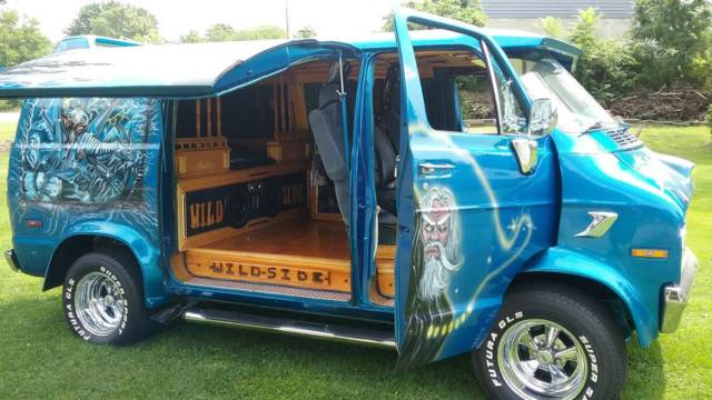 1977 DODGE B20 VAN SHORTY FULL CUSTOM for sale - Dodge Ram