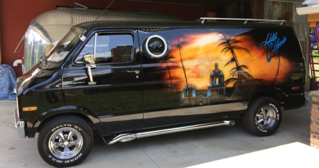 1977 Dodge Conversion Van Time Capsule For Sale