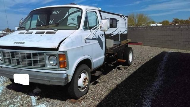 1977 Dodge Sportsman Van Turned Into Something Else, Dually