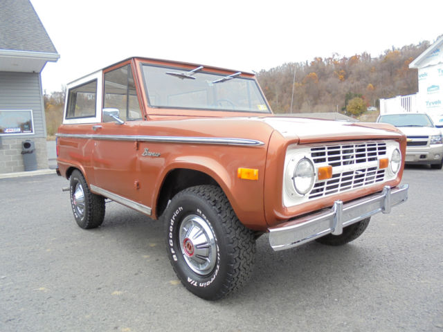 1977 ford bronco 302 v8 auto older restoration garage for Garage ford 62