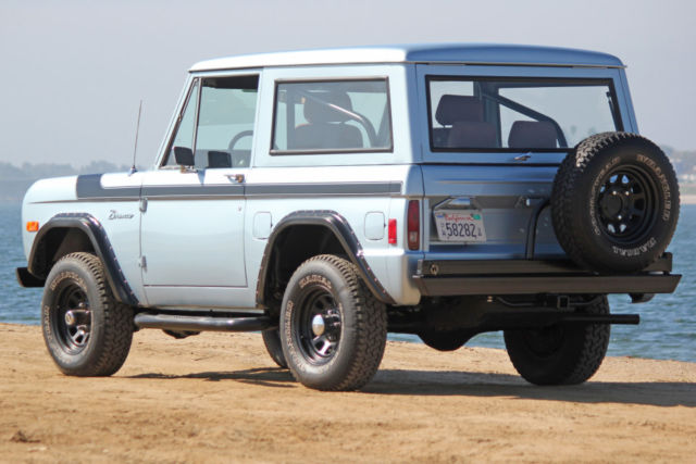 1977 ford bronco refreshed with frame off stunning paint an color drives great for sale ford. Black Bedroom Furniture Sets. Home Design Ideas