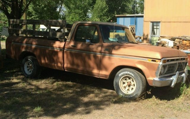 1977 ford custom 150 with a 300 inline 6 cylinder 2 wheel drive for sale ford f 150 1977 for. Black Bedroom Furniture Sets. Home Design Ideas