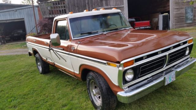 1977 ford f 250 ranger camper special pickup truck 460 auto for sale ford f 250 camper special. Black Bedroom Furniture Sets. Home Design Ideas
