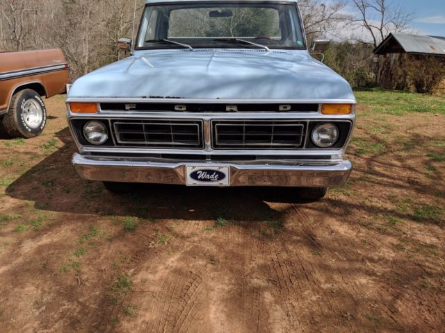 1977 FORD F100 SWB 351 CLEVELAND ENGINE for sale - Ford F
