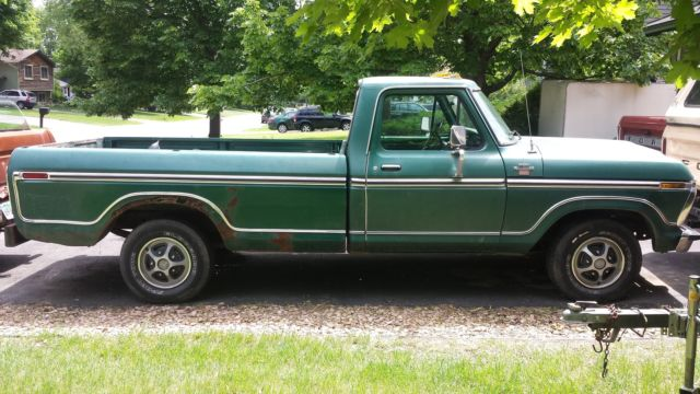 1977 ford f150 ranger xlt restore or parts for sale ford f 150 1977 for sale in minneapolis. Black Bedroom Furniture Sets. Home Design Ideas