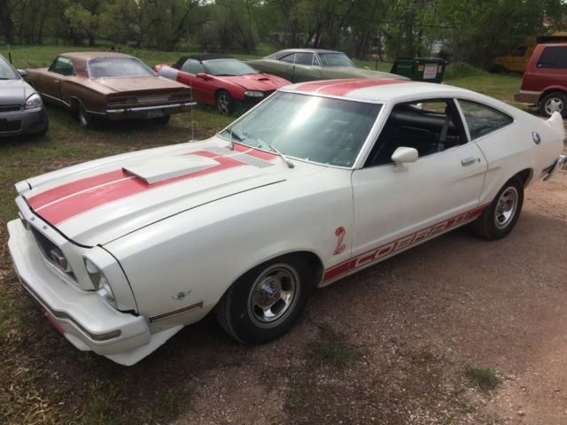 1977 ford mustang for sale ford mustang cobra 2 2nd owner since 1980 numbers matching. Black Bedroom Furniture Sets. Home Design Ideas
