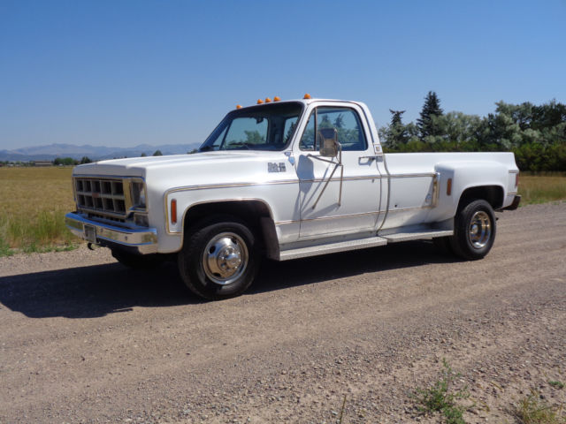 Gmc Camper For Sale >> 1977 GMC High Sierra C-35 dually 1 ton western high desert survivor Chevrolet NR for sale ...