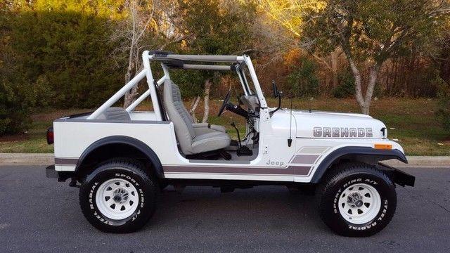 1977 JEEP CJ-7 RENEGADE*4X4*AUTO*RESTORED*HARDTOP*79K MI*FINANCING ...