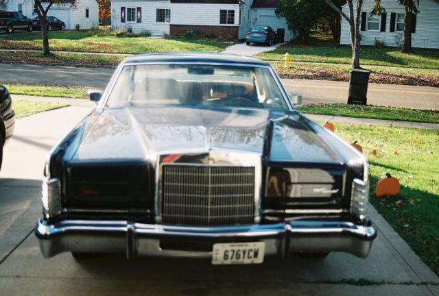 1977 Lincoln Continental Base Hardtop 2-Door 7 5L for sale