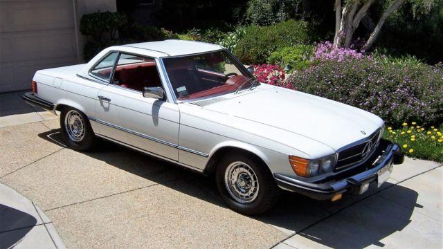 1977 mercedes benz 450sl 52k original miles two tops for Mercedes benz california