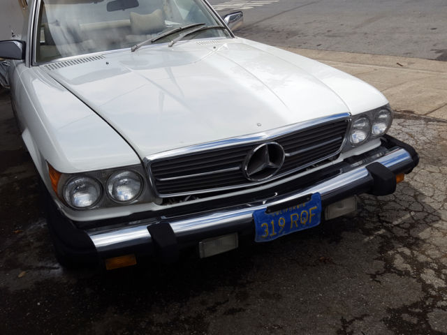 1977 mercedes benz 450sl roadster blue plate calif for Mercedes benz redwood city