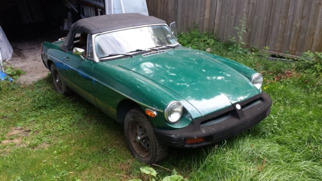 1977 MG MGB W/O engine and transmission Body only for sale