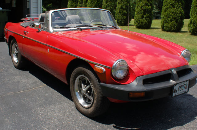 1977 mgb british convertible sports car for sale mg mgb 1977 for sale in winsted connecticut. Black Bedroom Furniture Sets. Home Design Ideas