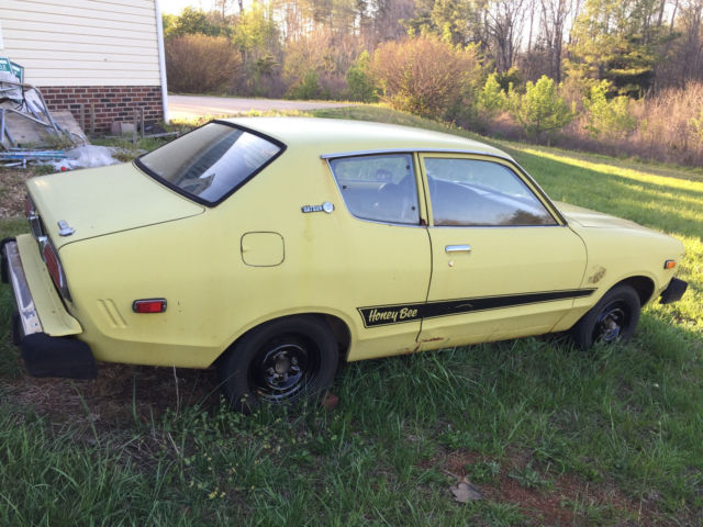 1977 nissan datsun b210 honey bee  100  original  runs very rarely offered  for sale datsun Datsun B210 Datsun 610