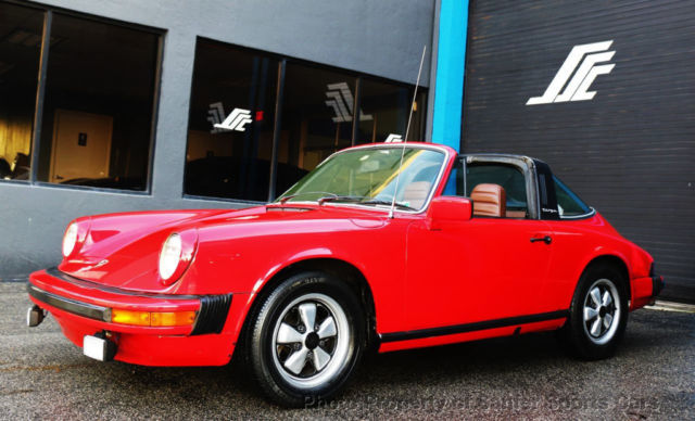 1977 Porsche 911S Carrera Targa 2.7 LTR 5 Speed Financing Available AcceptTrades for sale