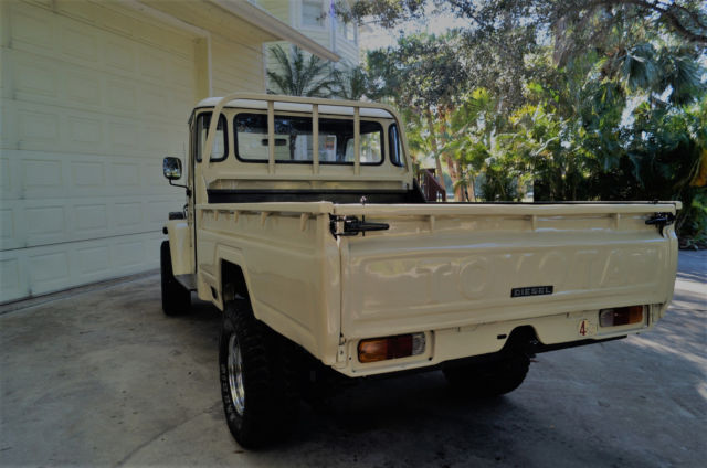 1977 rare diesel toyota land cruiser pick up truck fj40. Black Bedroom Furniture Sets. Home Design Ideas