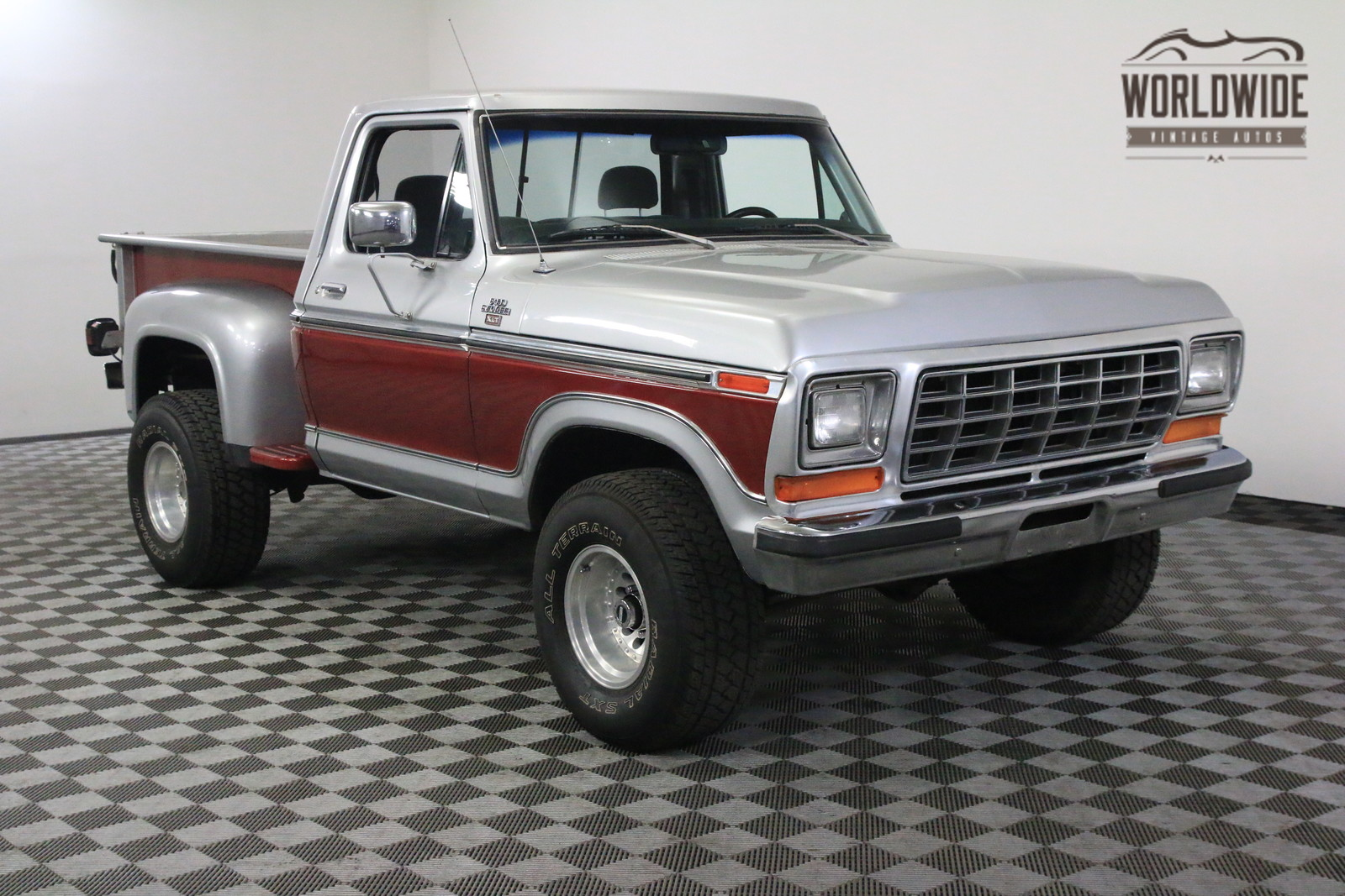 1977 red xlt 4x4 stepside 73k original miles for sale ford f150 xlt 4x4 stepside 73k original. Black Bedroom Furniture Sets. Home Design Ideas