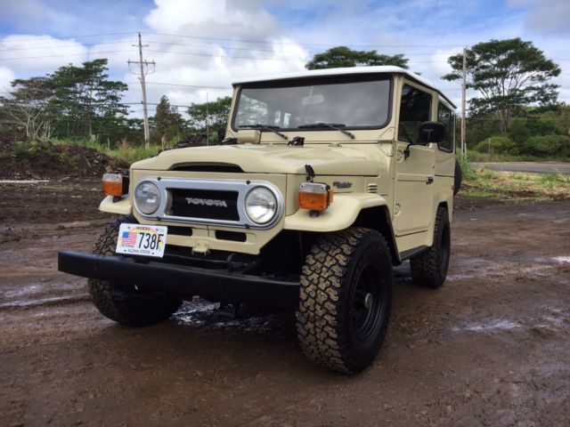 1977 toyota fj fj40 land cruiser for sale toyota fj. Black Bedroom Furniture Sets. Home Design Ideas