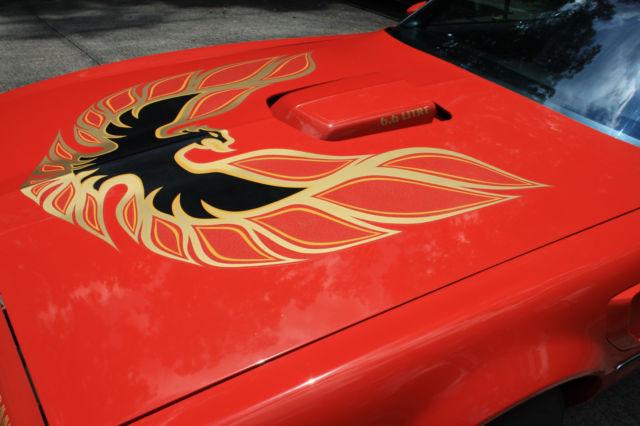 1977 Trans Am Pontiac 400 Auto Red Black 63 000 Miles Orig Paint Amp Int For Sale Pontiac