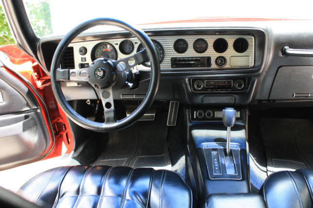 1977 trans am pontiac 400 auto red black 63 000 miles orig paint int for sale pontiac. Black Bedroom Furniture Sets. Home Design Ideas