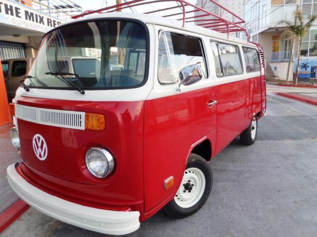 1977 vw deluxe bus california beach cruiser for sale. Black Bedroom Furniture Sets. Home Design Ideas