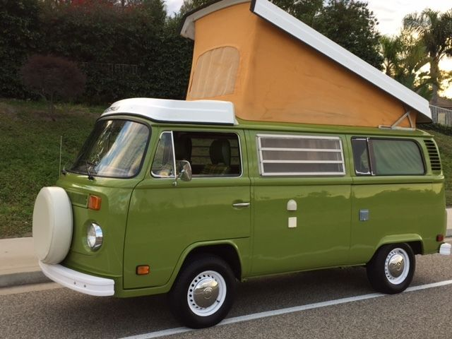 1977 vw westfalia full camper for sale volkswagen bus. Black Bedroom Furniture Sets. Home Design Ideas