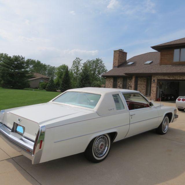 1978 Cadillac Coupe DeVille 50k Original Miles! White W