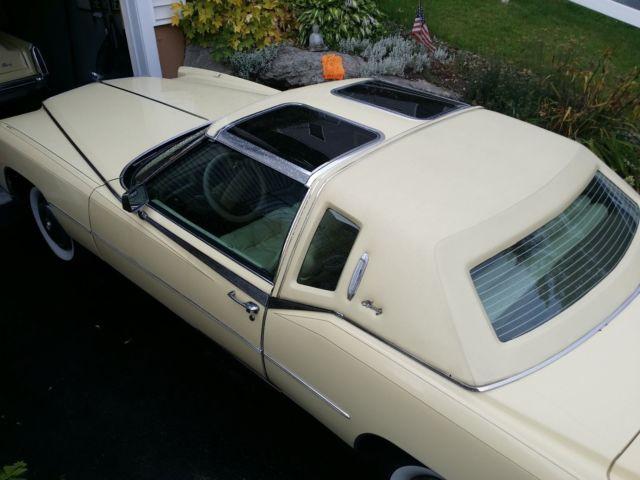1978 Cadillac Eldorado Biarritz Rare T Top For Sale