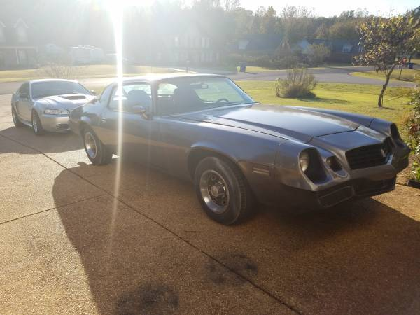 1978 Camaro Type LT numbers matching for sale - Chevrolet