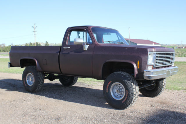 """1986 Chevy Truck Lifted >> 1978 CHEVROLET C-10 4X4 New 350 Motor, New Tires, New Paint 4"""" Lift Kit for sale - Chevrolet C ..."""