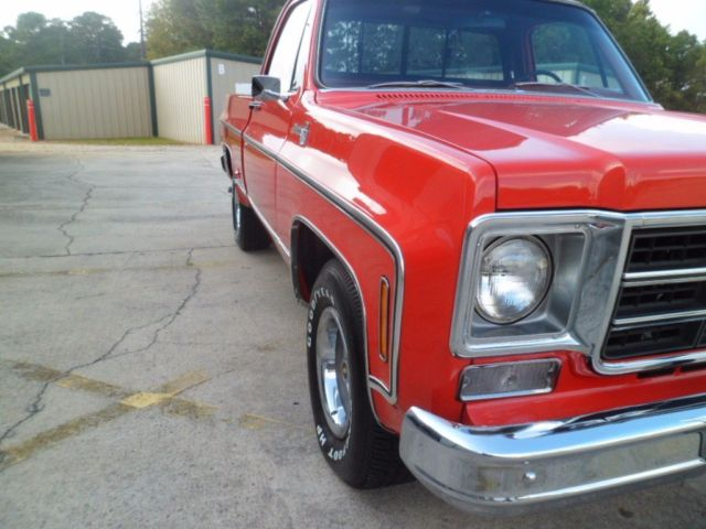 1978 Chevrolet C 10 Silverado Gm Crate 350 Engine Show