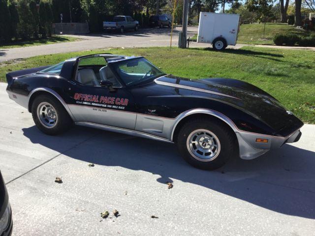corvette 1978 indy 500 pace car model autos post. Black Bedroom Furniture Sets. Home Design Ideas